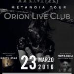 IAMX Orion 2016