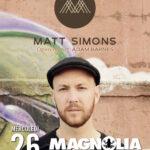 Matt Simons + opening 2016